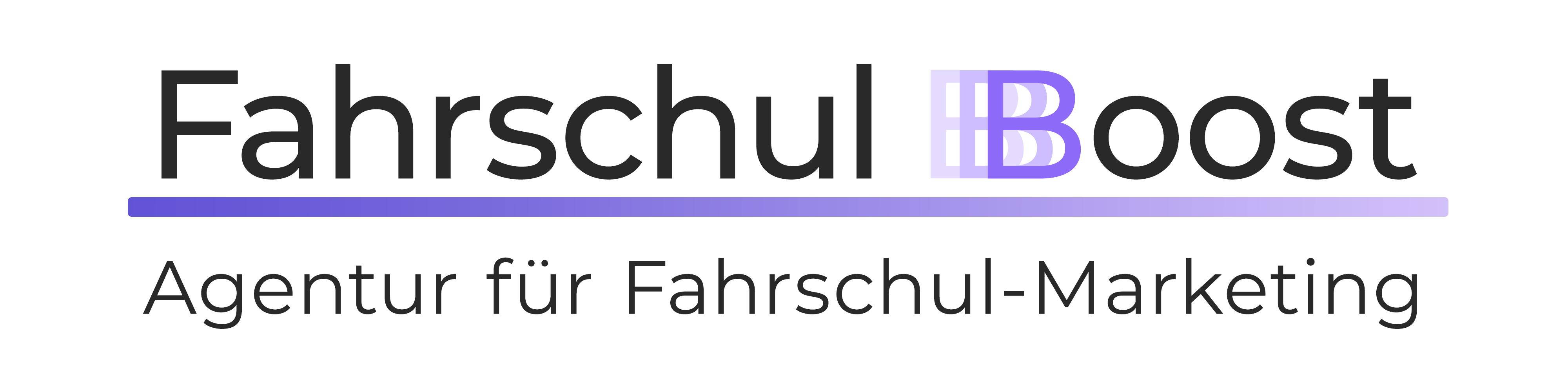 Fahrschul-Boost_Logo Agentur für Fahrschul-Marketing
